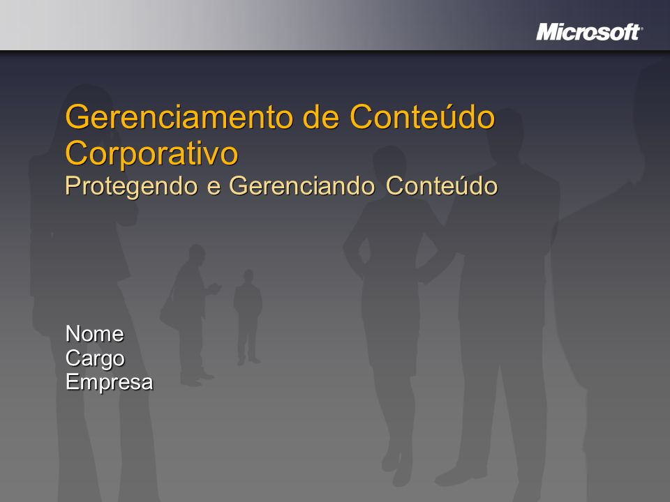 Windows Embedded Design Review Nome Cargo Empresa