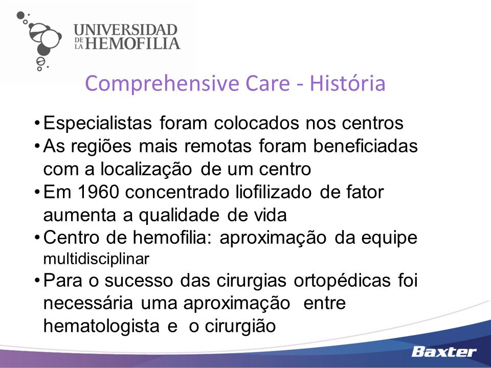 Comprehensive Care - História