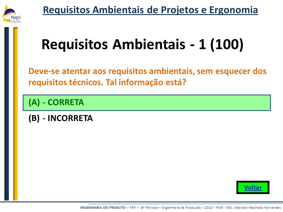 Requisitos Ambientais - 1 (100)