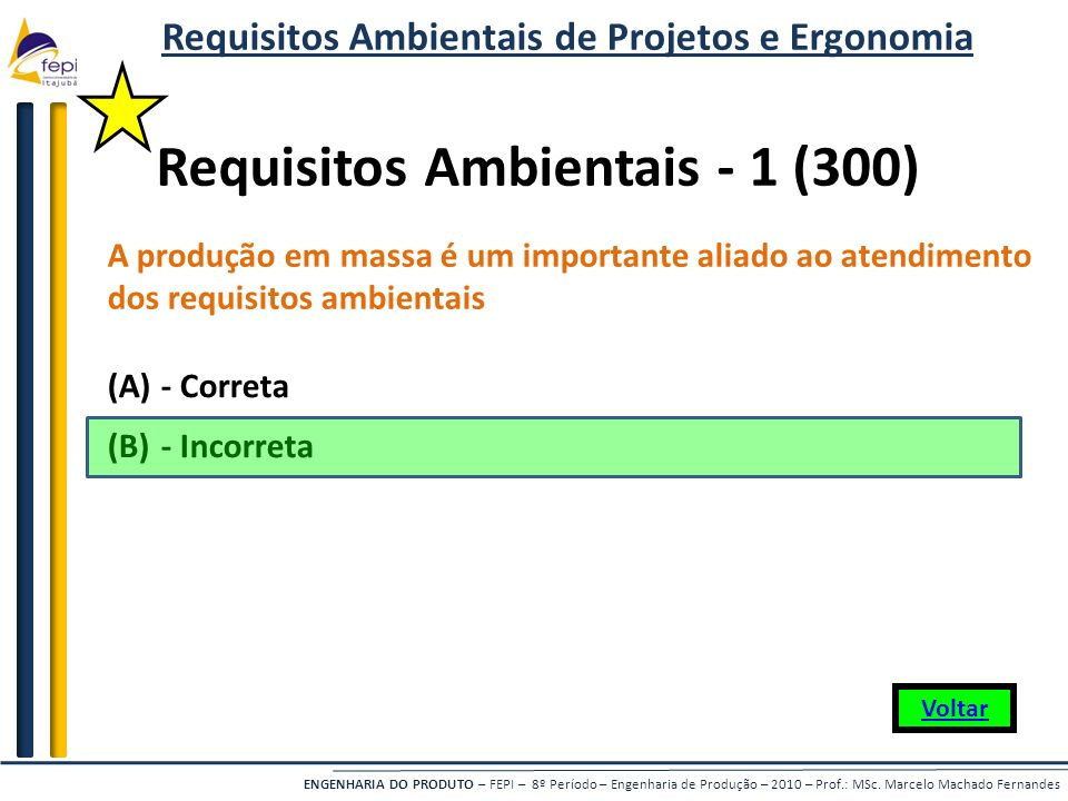 Requisitos Ambientais - 1 (300)