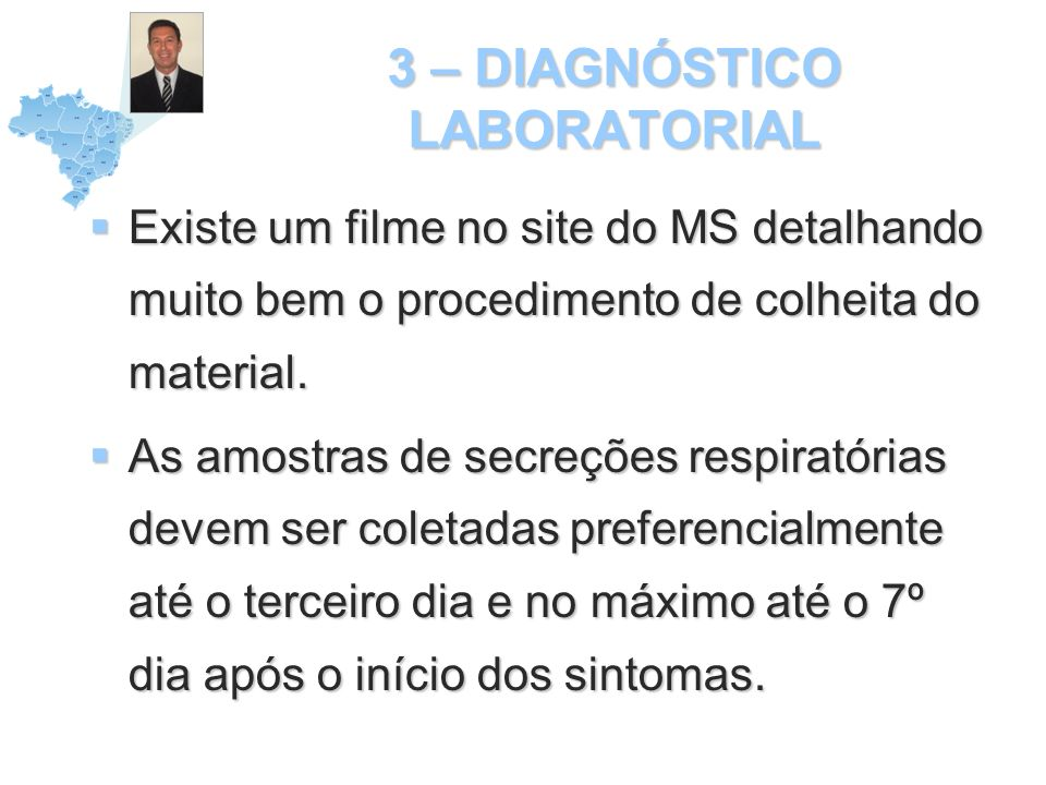 3 – DIAGNÓSTICO LABORATORIAL