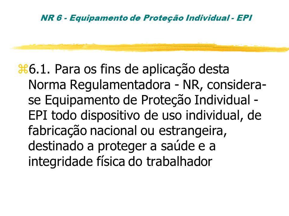 NR 6 - Equipamento de Proteção Individual - EPI - ppt carregar 6764e51491