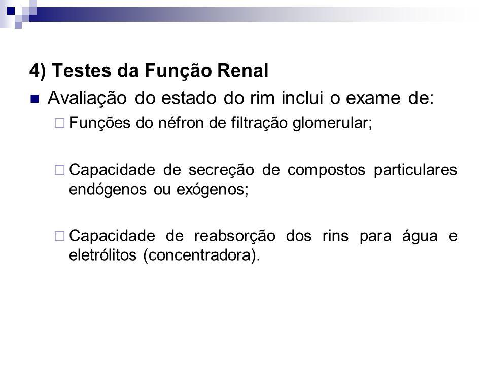 provas de funÇÃo renal ppt carregar4) testes da função renal