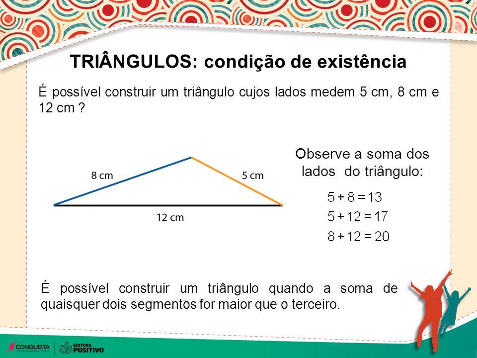 Triângulos e condições de existência - ppt carregar